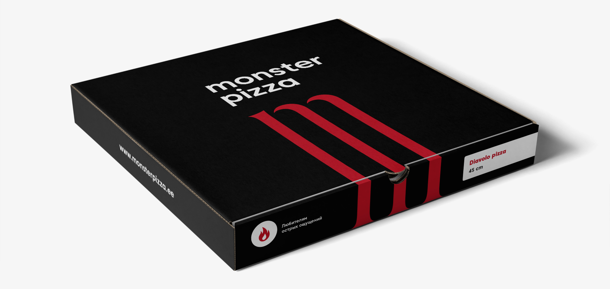 Monster Pizza Logotype