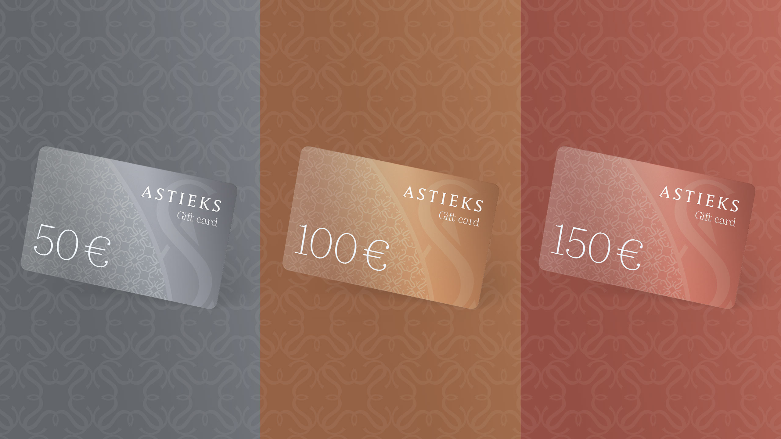 Gift Cards for Astieks Online Store