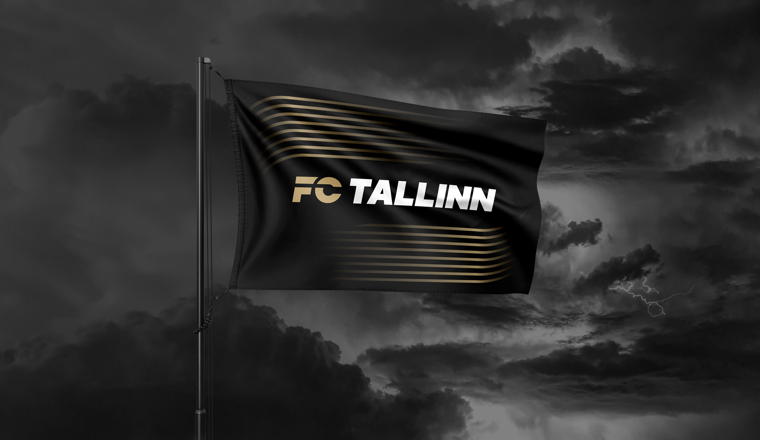 Flag Design for the Tallinn Football Club